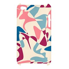 Blue, pink and purple pattern Apple iPod Touch 4
