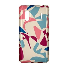 Blue, pink and purple pattern HTC Evo Design 4G/ Hero S Hardshell Case