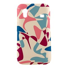 Blue, pink and purple pattern Samsung Galaxy Ace S5830 Hardshell Case