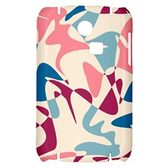 Blue, pink and purple pattern Samsung S3350 Hardshell Case