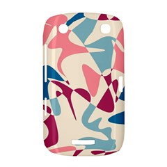 Blue, pink and purple pattern BlackBerry Curve 9380