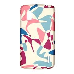 Blue, pink and purple pattern LG Nexus 4