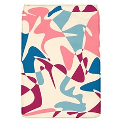 Blue, pink and purple pattern Flap Covers (L)