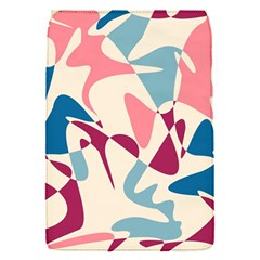 Blue, pink and purple pattern Flap Covers (S)