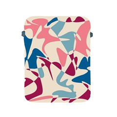 Blue, pink and purple pattern Apple iPad 2/3/4 Protective Soft Cases