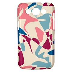 Blue, pink and purple pattern Samsung Galaxy Win I8550 Hardshell Case