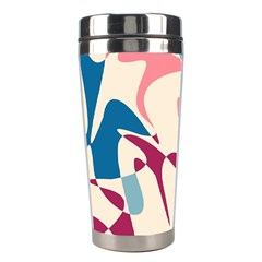 Blue, pink and purple pattern Stainless Steel Travel Tumblers