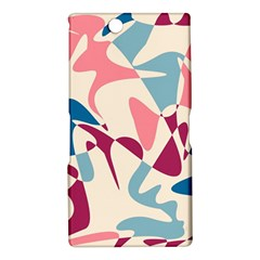 Blue, pink and purple pattern Sony Xperia Z Ultra