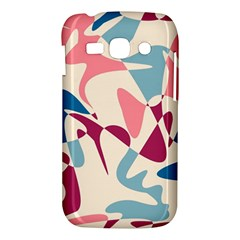 Blue, pink and purple pattern Samsung Galaxy Ace 3 S7272 Hardshell Case