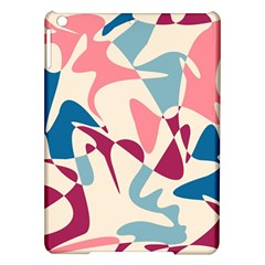 Blue, pink and purple pattern iPad Air Hardshell Cases