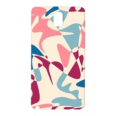 Blue, pink and purple pattern Samsung Galaxy Note 3 N9005 Hardshell Back Case
