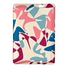 Blue, pink and purple pattern Kindle Fire HDX 8.9  Hardshell Case
