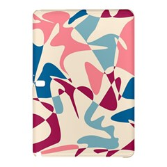 Blue, pink and purple pattern Samsung Galaxy Tab Pro 10.1 Hardshell Case