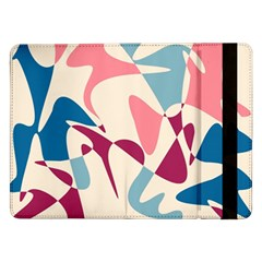 Blue, pink and purple pattern Samsung Galaxy Tab Pro 12.2  Flip Case