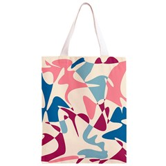 Blue, pink and purple pattern Classic Light Tote Bag
