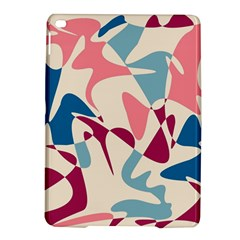 Blue, pink and purple pattern iPad Air 2 Hardshell Cases