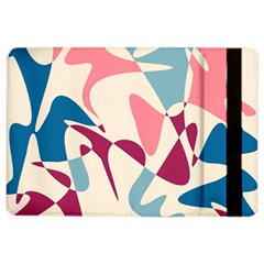 Blue, pink and purple pattern iPad Air 2 Flip