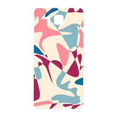 Blue, pink and purple pattern Samsung Galaxy Alpha Hardshell Back Case