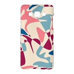 Blue, pink and purple pattern Samsung Galaxy A5 Hardshell Case