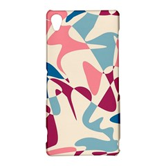Blue, pink and purple pattern Sony Xperia Z3