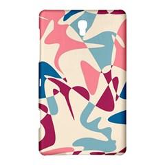 Blue, pink and purple pattern Samsung Galaxy Tab S (8.4 ) Hardshell Case