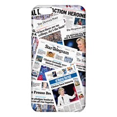 Hillary 2016 Historic Newspapers Iphone 6 Plus/6s Plus Tpu Case