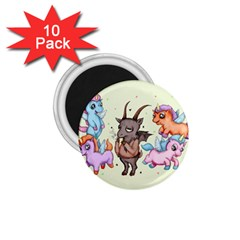 Evil Is Magic 1.75  Magnets (10 pack)