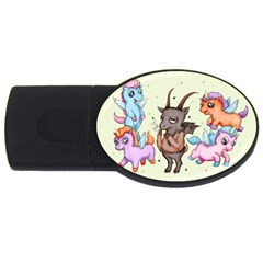 Evil Is Magic USB Flash Drive Oval (4 GB)