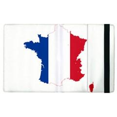 Flag Map Of France Apple iPad 3/4 Flip Case