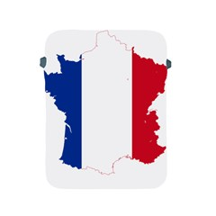Flag Map Of France Apple iPad 2/3/4 Protective Soft Cases