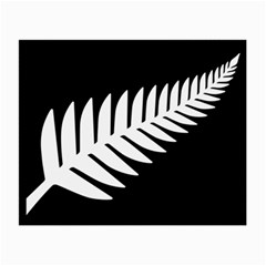 New Zealand Silver Fern Flag Small Glasses Cloth