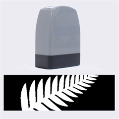 New Zealand Silver Fern Flag Name Stamps