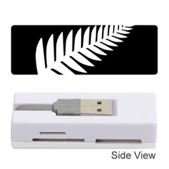 New Zealand Silver Fern Flag Memory Card Reader (Stick)