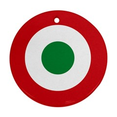 Roundel Of The Italian Air Force, 1911 1946 Ornament (Round)