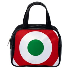 Roundel Of The Italian Air Force, 1911 1946 Classic Handbags (One Side)
