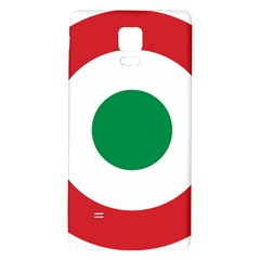 Roundel Of The Italian Air Force, 1911 1946 Galaxy Note 4 Back Case