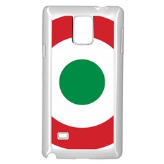 Roundel Of The Italian Air Force, 1911 1946 Samsung Galaxy Note 4 Case (White)