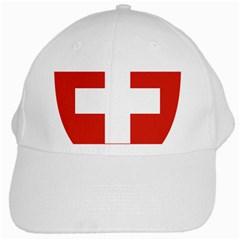 Coat Of Arms Of Switzerland White Cap