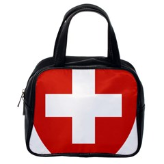 Coat Of Arms Of Switzerland Classic Handbags (One Side)