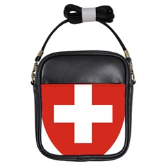 Coat Of Arms Of Switzerland Girls Sling Bags