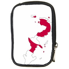 Flag Map Of Okinawa Prefecture Compact Camera Cases