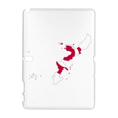 Flag Map Of Okinawa Prefecture Samsung Galaxy Note 10.1 (P600) Hardshell Case