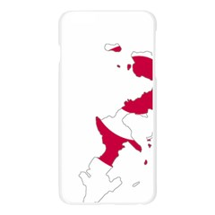 Flag Map Of Okinawa Prefecture Apple Seamless iPhone 6 Plus/6S Plus Case (Transparent)