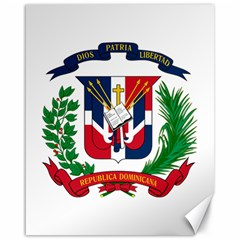 Coat Of Arms Of The Dominican Republic Canvas 16  x 20