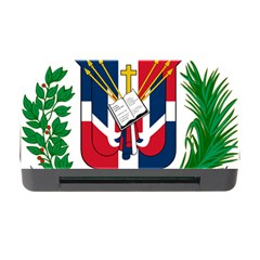 Coat Of Arms Of The Dominican Republic Memory Card Reader with CF
