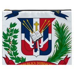 Coat Of Arms Of The Dominican Republic Cosmetic Bag (XXXL)