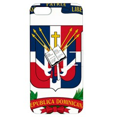 Coat Of Arms Of The Dominican Republic Apple iPhone 5 Hardshell Case with Stand