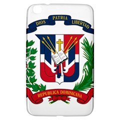 Coat Of Arms Of The Dominican Republic Samsung Galaxy Tab 3 (8 ) T3100 Hardshell Case