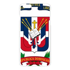 Coat Of Arms Of The Dominican Republic Apple Seamless iPhone 6 Plus/6S Plus Case (Transparent)