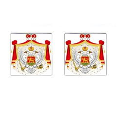 Coat Of Arms Of Kingdom Of Montenegro, 1910 1918 Cufflinks (Square)